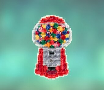 Gumball Machine - Beaded Cross Stitch Kit