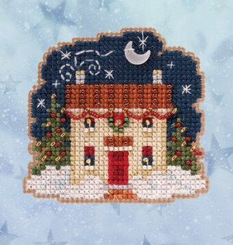 Christmas Eve (2020) - Beaded Cross Stitch Kit