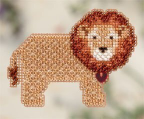 Lion Heart - Beaded Cross Stitch Kit