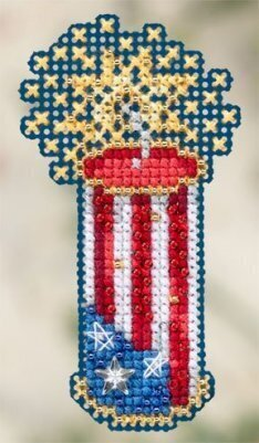 Firecracker - Beaded Cross Stitch Kit