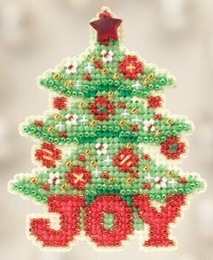 Joy Tree - Beaded Cross Stitch Kit