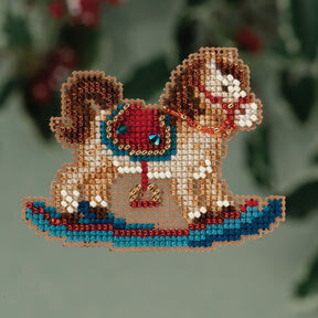 Rocking Horse - Beaded Cross Stitch Kit