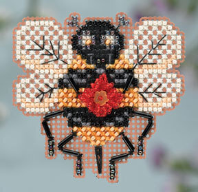 The Buzz - Beaded Cross Stitch Kit