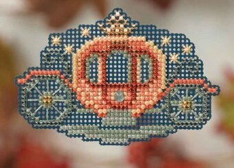 Princess Carriage - Beaded Cross Stitch Kit