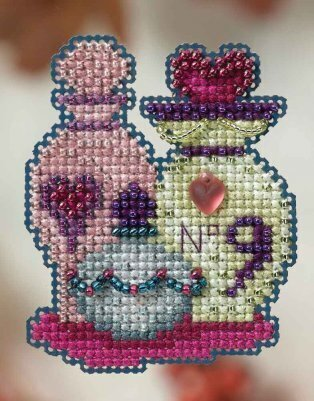 Love Potions - Beaded Cross Stitch Kit