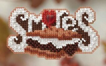 Smores - Beaded Cross Stitch Kit
