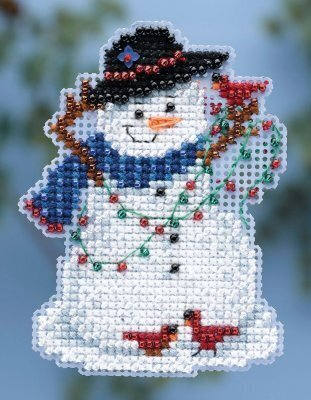 Snow Fun - Beaded Cross Stitch Kit