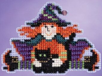 Wacky Wendy - Beaded Cross Stitch Kit