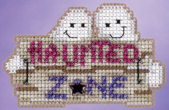 Haunted Zone - Beaded Cross Stitch Kit