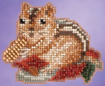 Chippy - Beaded Cross Stitch Kit