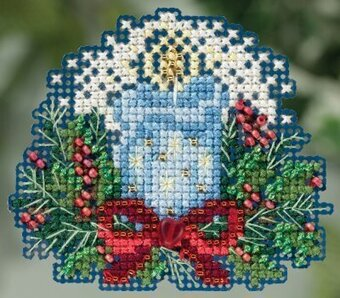 Candlelight - Beaded Cross Stitch Kit