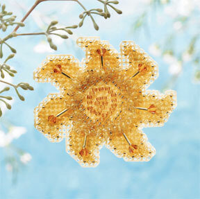 Golden Sun - Beaded Cross Stitch Kit