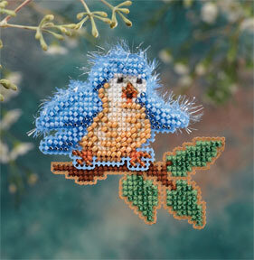 Bye Bye Birdie - Beaded Cross Stitch Kit