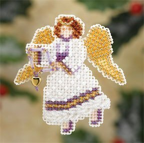 Snow Angel - Beaded Cross Stitch Kit