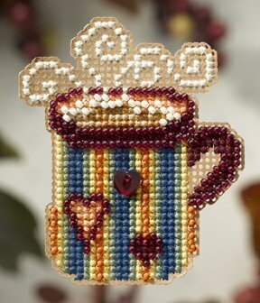 Hot Stuff - Beaded Cross Stitch Kit