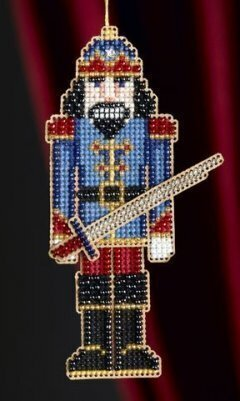 Nutcracker - Beaded Cross Stitch Kit
