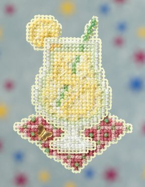Lemonade - Beaded Cross Stitch Kit