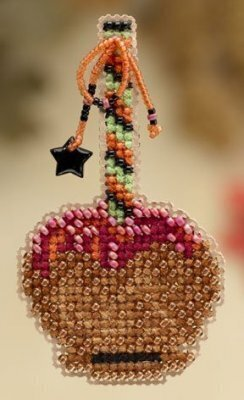 Caramel Apple - Beaded Cross Stitch Kit