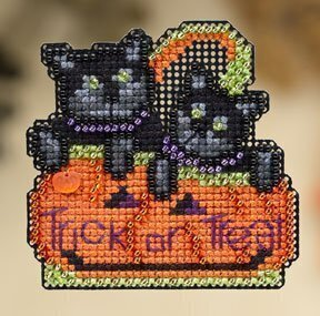 Kitty Treat - Beaded Cross Stitch Kit