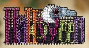Halloween - Beaded Cross Stitch Kit