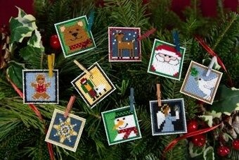 Advent Trilogy Set One - Beaded Cross Stitch Kit