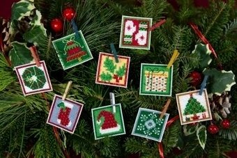 Advent Trilogy Set Two - Beaded Cross Stitch Kit