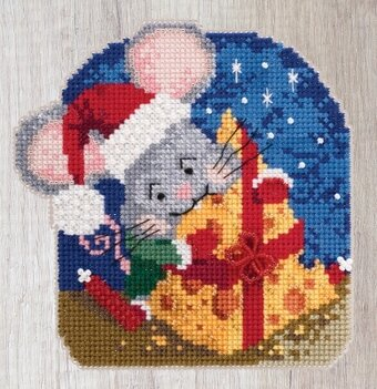 Mac Cheese - Beaded Cross Stitch Kit
