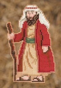 Joseph (Nativity Trilogy) - Beaded Cross Stitch Kit