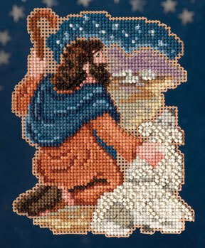 Benjamin - Nativity Trilogy - Beaded Cross Stitch Kit