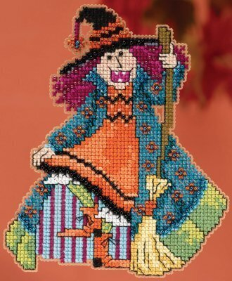 Mimi Hocus Pocus Trilogy - Beaded Cross Stitch Kit