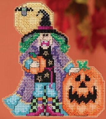 Muriel Hocus Pocus Trilogy - Beaded Cross Stitch Kit