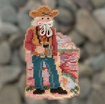 Grand Canyon Santa - Beaded Cross Stitch Kit