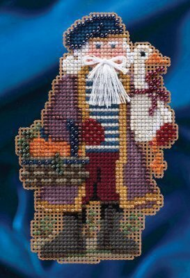 Joyeux Noel - Beaded Cross Stitch Kit