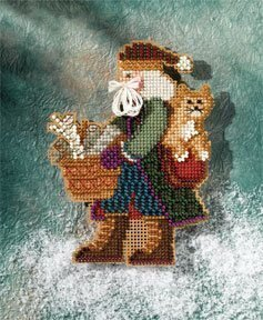 Smoky Mountain Santa - Appalachian Santas - Cross Stitch Kit