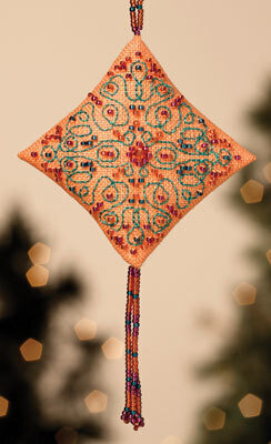 Tangerine Sorbet - Beaded Cross Stitch Kit