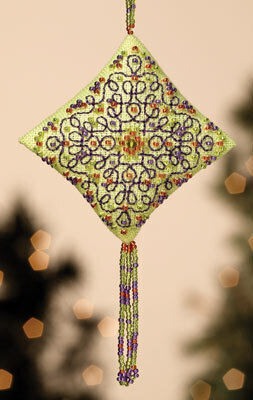 Citrus Parfait - Beaded Cross Stitch Kit