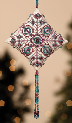 Royal Plum - Beaded Cross Stitch Kit