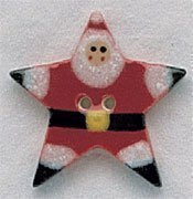 Star Santa Button