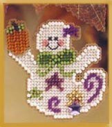 Ghostly Fun - Beaded Cross Stitch Kit