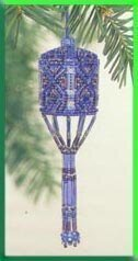 Sapphire Tassel Ornament Cross Stitch Kit