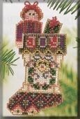 Joyful Stocking - Beaded Cross Stitch Kit