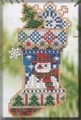Mr. Snowflake - Beaded Cross Stitch Kit