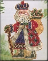 Mt McKinley Santa - Beaded Cross Stitch Kit