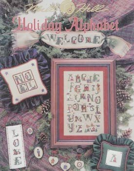 Holiday Alphabet - Cross Stitch Pattern