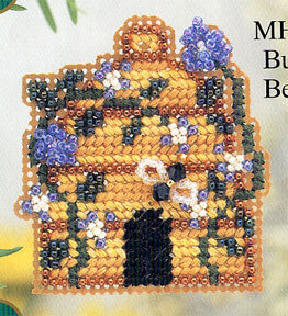 Bumble Bee Inn - Beaded Cross Stitch Kit