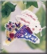 Hoppin' Bunny - Beaded Cross Stitch Kit