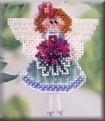 Angeline - Beaded Cross Stitch Kit