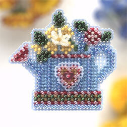 Flower Showers - Beaded Cross Stitch Kit
