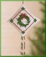 Winterbird Wreath Cross Stitch Kit