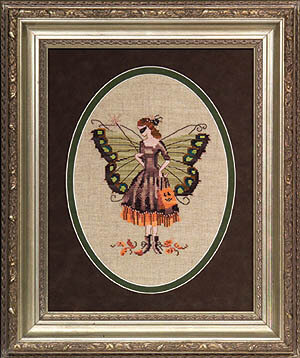 Halloween Fairy - Mirabilia Cross Stitch Kit